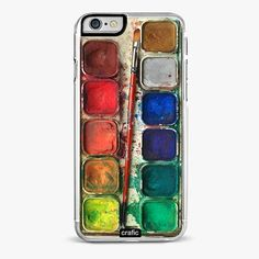 iPhone 4 Case, Watercolor painting Box, palette Design iphone hard case, iphone case from Sevinoma on Etsy. Saved to iphone 4 case. Iphone 4s, Iphone 7 Plus, Iphone Hard Case, Iphone 5c Cases, Cute Phone Cases, Coque Iphone, Apple Iphone, 6 Case, Ipad Case