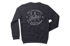 Men's Enlightenment Crew Neck - black (back)