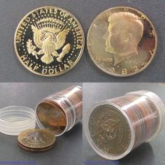 Roll of mixed date proof Kennedy half dollars. Bids close Thurs, 20 Oct from 11am ET. http://bid.cannonsauctions.com/cgi-bin/mnlist.cgi?redbird72/1704