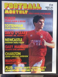 Nottingham Forest Fc, Forest Color, Vintage Football, Magazine Articles, Newcastle, Magazines, Journals