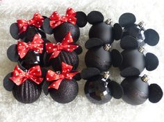Shatterproof Minnie and Mickey Mouse por MimiAndPasPlace en Etsy