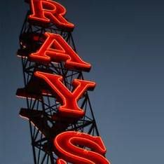 [Ray's sign, hometown love -area]