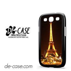 Night Scane Paris Eiffel Tower DEAL-7730 Samsung Phonecase Cover For Samsung Galaxy S3 / S3 Mini