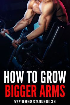 Read this article to get the specific exercises, reps, and sets to use on your next arm workout in the gym to start building bigger arms. This bicep and tricep workout will help you get a massive pump and enable you to grow much bigger arms so make sure t Killer Arm Workouts, Arm Workout Men, Bicep And Tricep Workout, Dumbbell Workout, Big Biceps, Biceps And Triceps, Fit Board Workouts, Gym Workouts, Workout Board