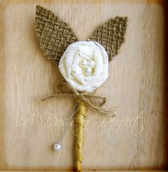 MAGAZINE FEATURED 2013 -Rustic Boutonniere, Lace Boutonniere, Shabby Chic Wedding, Rustic Wedding, Burlap and Lace -Top Selling