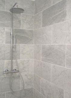 Small Bathroom Grey Bathroom Tiles Bathroom Grey Bathrooms Regarding Grey Bathroom Tiles Small Grey Bathrooms, Grey Bathroom Tiles, Bathroom Flooring, Grey Tiles, Wall Tiles, Tiled Bathrooms, Bathroom Showers, Tile Showers, White Tiles