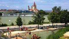 Water play area for kids! Parks, Water Play, Family Day, Day Trips, Vienna, Austria, Dolores Park, Christian, Explore