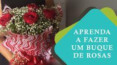 Dicas de Florista  #02 - Aprenda Como fazer um buquê de Rosas