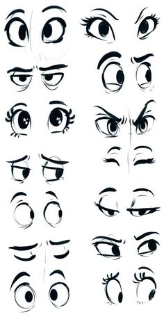 How to draw cartoon eyes? Yes, it is very easy to draw cartoon eyes. The eyes are among the most important features for any cartoon. Drawing Eyes, Drawing Sketches, Art Drawings, Pencil Drawings, Sketching, Cartoon Eyes Drawing, Cartoon Sketches, Eye Sketch, Drawing Art