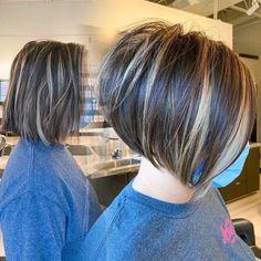 Medium Stacked Haircuts, Graduated Bob Haircuts, Inverted Bob Hairstyles, Cute Bob Haircuts, Short Layered Haircuts, Medium Stacked Bobs, Stacked Layered Bob, Short Stacked Wedge Haircut, Swing Bob Haircut