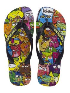 5eb6dd01d Havaianas Street Art - The Havaianas Street Art inspired-collection  features four sandal styles