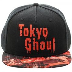Tokyo Ghoul Sublimated Bill Snapback Cap Hat