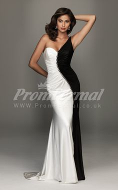 a291516e0eb 10 Best black and white prom dress images