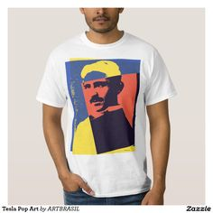 Tesla Pop Art T-Shirt