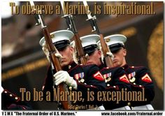 Marines - so proud of my Marine son!