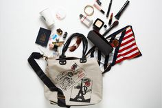 """B Insider """"What's In Your Bag"""" editorial What In My Bag, What's In Your Bag, Inside My Bag, What's In My Purse, Girls Bags, You Bag, Girly, Purses, Lady"""