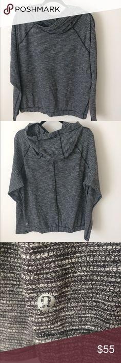 Lululemon pullover athletic top Barely worn Lululemon pullover top. Looks great with leggings or jeans. Tops Sweatshirts & Hoodies