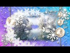 Самое красивое поздравление с днем рождения зимой ! Красивая музыка и красивые пожелания ! - YouTube