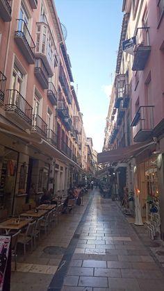 Calle Navas, Granada - Spain Granada, Places To Travel, Street, Earth, Cities, Grenada, Destinations, Holiday Destinations