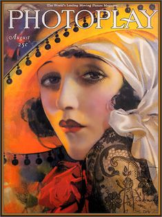 Photoplay Cover Illustration  by  Rolf Armstrong