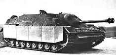 Jagdpanzer IV48 with side auxiliary armor.