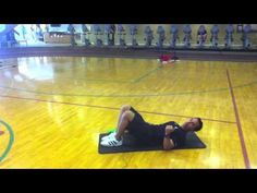 Cooper #Fitness Center Professional Fitness Trainer Robert Treece demonstrates three easy stretches to incorporate to your pre-workout routine and post-workout.