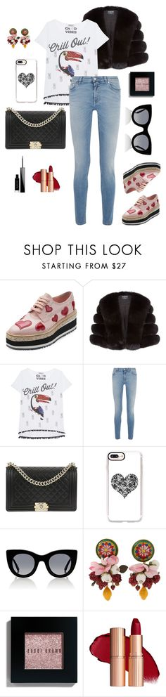 """Chill out!"" by charlottes-styles on Polyvore featuring mode, Prada, Harrods, Grace, Givenchy, Chanel, Casetify, Thierry Lasry, Dolce&Gabbana en Bobbi Brown Cosmetics"