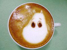Moomin coffee so cute Totoro, Moomin Books, Tove Jansson, Kids Story Books, Latte Art, Coffee Art, Something Sweet, Yummy Cookies, Helsinki