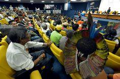 ÍNDIOS POTIGUARA DA PARAÍBA EM FOCO: Mobilizações contra a PEC 215 se intensificam em A...