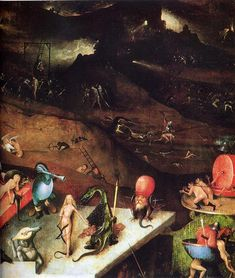 The Last Judgement (detail) - Hieronymus Bosch