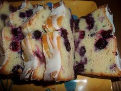 Rosies Country Baking: Lemon Blueberry Bread