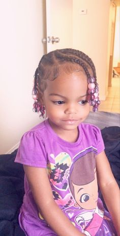 Infant Hairstyles, Mixed Baby Hairstyles, Toddler Braided Hairstyles, Toddler Braids, Children Hairstyles, Easy Little Girl Hairstyles, Little Girl Braids, Cute Hairstyles For Kids, Kids Braided Hairstyles