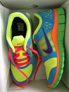 I want these kicks! I'd want to workout just so I can wear them #sneakers shoes nike free run 3 womens
