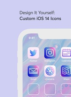 This is all achieved through Shortcuts(?) which is Apple's way to allow you to add a simple task to your home screen which is triggered by a custom icon. One of those tasks that you can create is simply the ability to launch an app. So while this will not be an actual replacement for the official app icons, it is a very handy way to create a secondary shortcut link on your home screen which can launch any app and you can use whatever graphic or image you want for these shortcuts. Social Media Icons, Social Media Design, App Background, Smartphone, Business Icon, Business Cards, Custom Icons, App Icon Design, Ios Icon