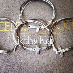 Χειροποιήτα μαρτυρικά βάπτισης-βραχιολάκια CELFIE COCO. www.nikolas-ker.gr