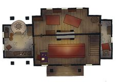 Building Interior With Images Map Dnd Markers