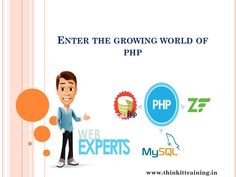 Get Trained from our Industry experts to shine in this growing world. Our experts will give you th excellent training on PHP, which is very helpful for your career development.