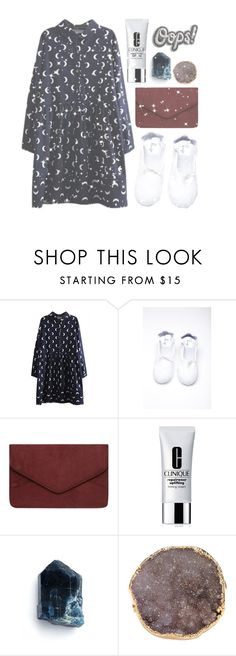 """Prince Charming, come save me"" by morganamerica ❤ liked on Polyvore featuring WithChic, Dorothy Perkins, Clinique, Valerie Nahmani Designs and Anya Hindmarch"
