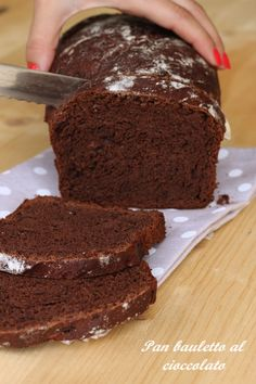 Pan bauletto al cioccolato |CuciniAmo con Chicca