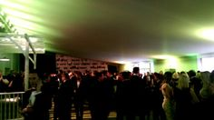 The drinks reception filling up nicely #MFAwards
