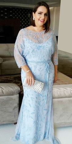 Fitted Prom Dress, Mermaid Bateau Light Blue Lace Plus Size Prom Dress with Sash, Looking for that Perfect Prom Dress? Want to look amazing at the dance? Mother Of The Bride Plus Size, Mother Of The Bride Dresses Long, Mothers Dresses, Mother Bride, Best Formal Dresses, Plus Size Prom Dresses, Popular Dresses, Halter Dresses, Dress Formal