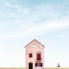 Lonely Houses by Sejkko, a photo find made in Portugal