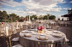 Gold and Fuscha Wedding. Floral and Décor by Weddings By Dzign Las Vegas Photography: Fabio & Adri. Venue: Las Vegas Country Club