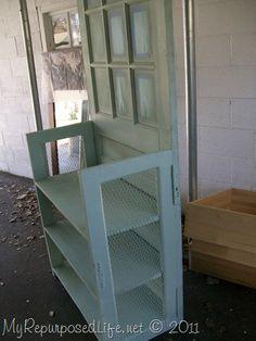 repurposed door into shelf (22)