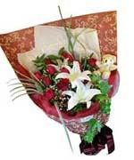 Red Roses Hand Bouquet LUV012