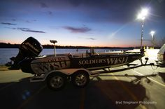 Team Soldier's Wish and Fish for the Wish Big Bass Challenge on Grand La...