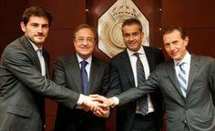 "RADIO    CORAZON     DEPORTIVO: REAL MADRID CF: FLORENTINO PÉREZ: ""CASILLAS VA A S..."