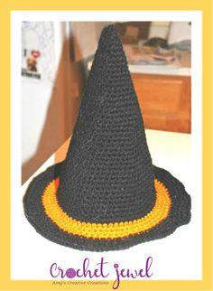 5dbf1ccff1104 Twisted Witch Hat pattern by Stephanie Pokorny