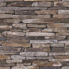 Arrapaneeli popup kiviseinä 3 D, harmaa/ruskea. 0,52 x 2,5 m. 26,90 €.