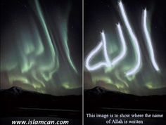 Aurora is a natural wonder that you can see in the polar regions. But this one is so beautiful. Because the aurora is visible on top of Alaska's mountain region forming Gunsight Allah a beautiful writing.